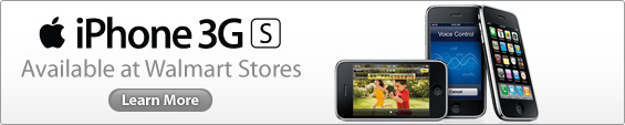 Wal-Mart Drops iPhone 3Gs price to $97!